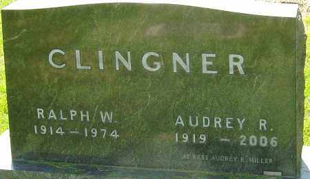 CLINGNER, AUDREY R - Montgomery County, Ohio | AUDREY R CLINGNER - Ohio Gravestone Photos