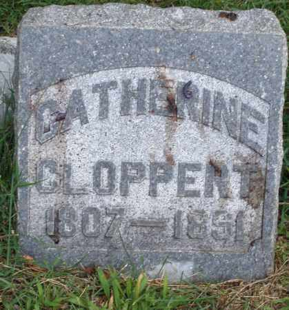 CLOPPERT, CATHERINE - Montgomery County, Ohio | CATHERINE CLOPPERT - Ohio Gravestone Photos