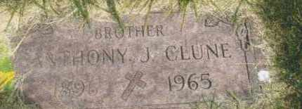 CLUNE, ANTHONY J. - Montgomery County, Ohio | ANTHONY J. CLUNE - Ohio Gravestone Photos