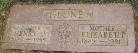 CLUNE, HENRY JOHN - Montgomery County, Ohio | HENRY JOHN CLUNE - Ohio Gravestone Photos
