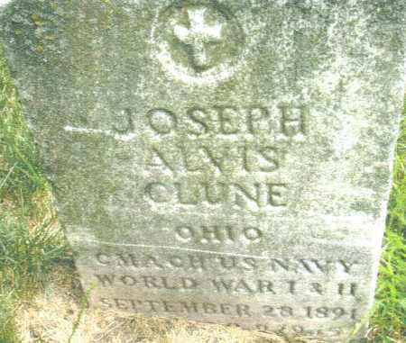 CLUNE, JOSEPH ALVIS - Montgomery County, Ohio | JOSEPH ALVIS CLUNE - Ohio Gravestone Photos