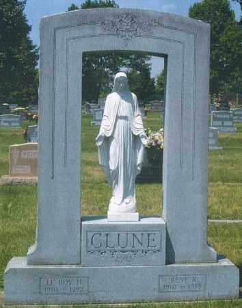 CLUNE, IRENE ROSE - Montgomery County, Ohio | IRENE ROSE CLUNE - Ohio Gravestone Photos