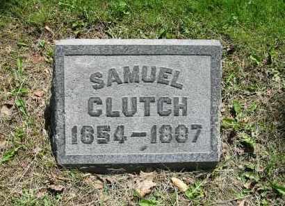 CLUTCH, SAMUEL - Montgomery County, Ohio | SAMUEL CLUTCH - Ohio Gravestone Photos