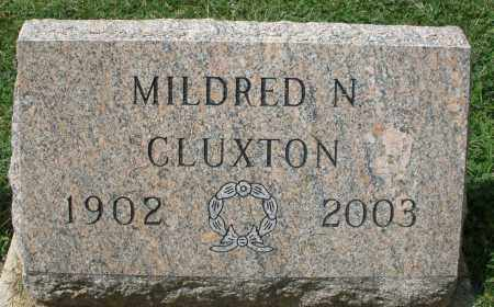 CLUXTON, MILDRED N. - Montgomery County, Ohio | MILDRED N. CLUXTON - Ohio Gravestone Photos