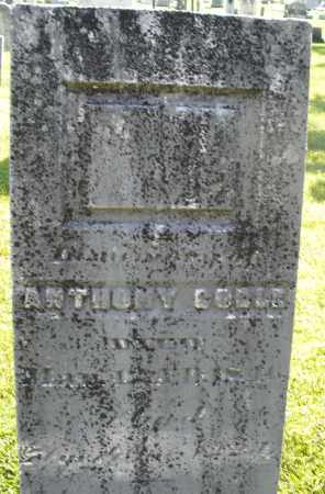 COBLE, ANTHONY - Montgomery County, Ohio | ANTHONY COBLE - Ohio Gravestone Photos