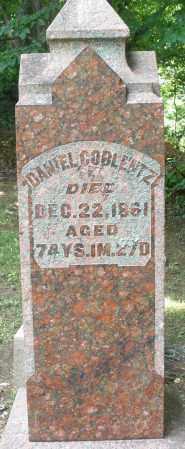 COBLENTZ, DANIEL - Montgomery County, Ohio | DANIEL COBLENTZ - Ohio Gravestone Photos