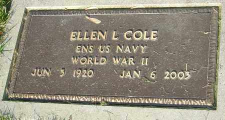 SPAHR COLE, ELLEN - Montgomery County, Ohio | ELLEN SPAHR COLE - Ohio Gravestone Photos