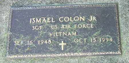 COLON, ISMAEL - Montgomery County, Ohio | ISMAEL COLON - Ohio Gravestone Photos