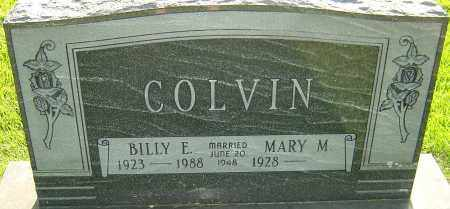 COLVIN, BILLY E - Montgomery County, Ohio | BILLY E COLVIN - Ohio Gravestone Photos