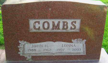 COMBS, JOHN H - Montgomery County, Ohio | JOHN H COMBS - Ohio Gravestone Photos