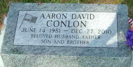 CONLON, AARON DAVID - Montgomery County, Ohio | AARON DAVID CONLON - Ohio Gravestone Photos