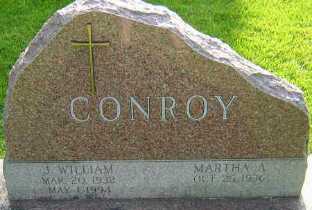 CONROY, J WILLIAM - Montgomery County, Ohio | J WILLIAM CONROY - Ohio Gravestone Photos