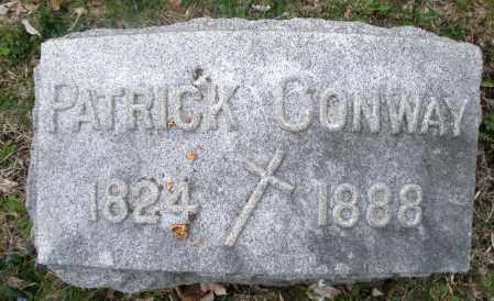 CONWAY, PATRICK - Montgomery County, Ohio | PATRICK CONWAY - Ohio Gravestone Photos