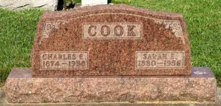 COOK, SARAH E. - Montgomery County, Ohio | SARAH E. COOK - Ohio Gravestone Photos