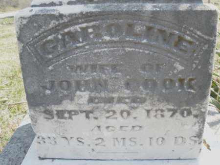 COOK, CAROLINE - Montgomery County, Ohio | CAROLINE COOK - Ohio Gravestone Photos