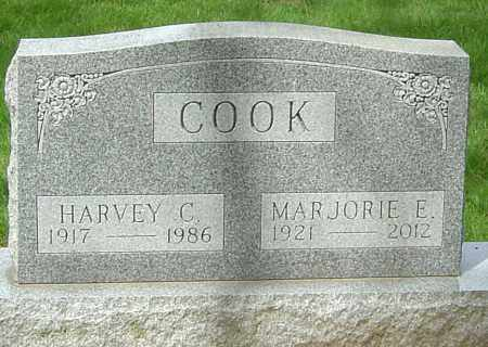 COOK, HARVEY C - Montgomery County, Ohio | HARVEY C COOK - Ohio Gravestone Photos