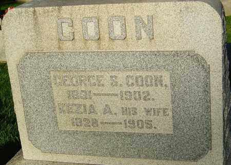 COON, GEORGE S - Montgomery County, Ohio | GEORGE S COON - Ohio Gravestone Photos