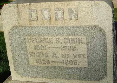 COON, KEZIA A - Montgomery County, Ohio | KEZIA A COON - Ohio Gravestone Photos