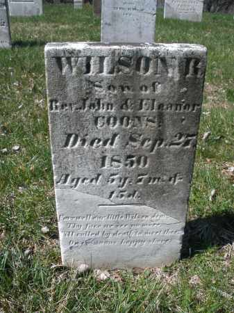 COONS, WILSON R - Montgomery County, Ohio | WILSON R COONS - Ohio Gravestone Photos