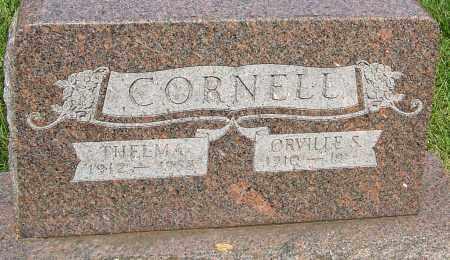 CORNELL, ORVILLE S - Montgomery County, Ohio | ORVILLE S CORNELL - Ohio Gravestone Photos