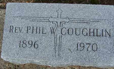 COUGHLIN, PHIL W - Montgomery County, Ohio | PHIL W COUGHLIN - Ohio Gravestone Photos