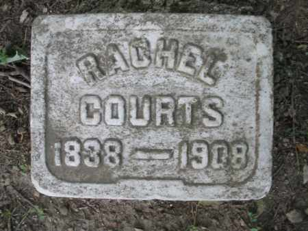 COURTS, RACHEL - Montgomery County, Ohio | RACHEL COURTS - Ohio Gravestone Photos