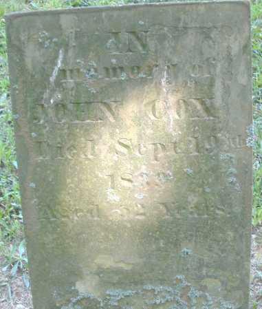 COX, JOHN - Montgomery County, Ohio | JOHN COX - Ohio Gravestone Photos