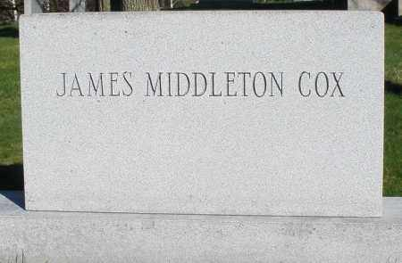 COX, JAMES MIDDLETON - Montgomery County, Ohio | JAMES MIDDLETON COX - Ohio Gravestone Photos