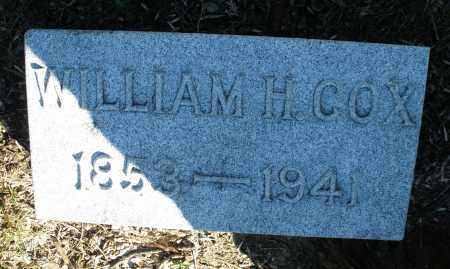 COX, WILLIAM H. - Montgomery County, Ohio | WILLIAM H. COX - Ohio Gravestone Photos