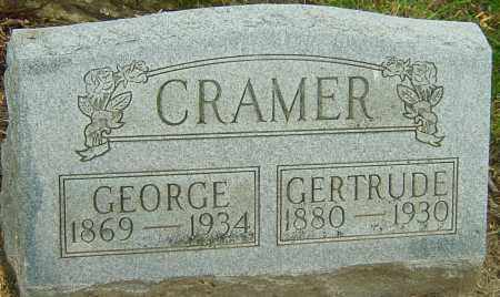 CRAMER, GEORGE - Montgomery County, Ohio | GEORGE CRAMER - Ohio Gravestone Photos
