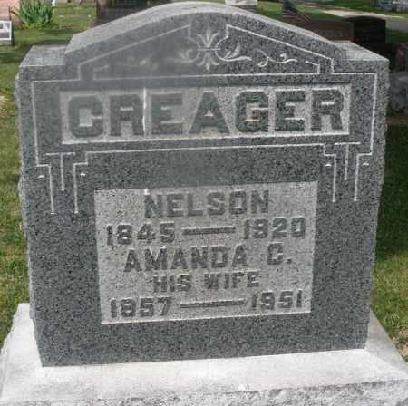 CREAGER, NELSON - Montgomery County, Ohio | NELSON CREAGER - Ohio Gravestone Photos