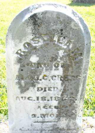CRESS, ROSELEA M. - Montgomery County, Ohio | ROSELEA M. CRESS - Ohio Gravestone Photos