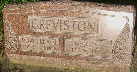 CREVISTON, MARCELLA M - Montgomery County, Ohio | MARCELLA M CREVISTON - Ohio Gravestone Photos