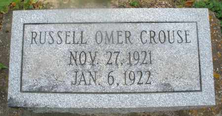 CROUSE, RUSSELL OMER - Montgomery County, Ohio | RUSSELL OMER CROUSE - Ohio Gravestone Photos