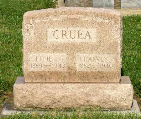 CRUEA, HARVEY - Montgomery County, Ohio | HARVEY CRUEA - Ohio Gravestone Photos