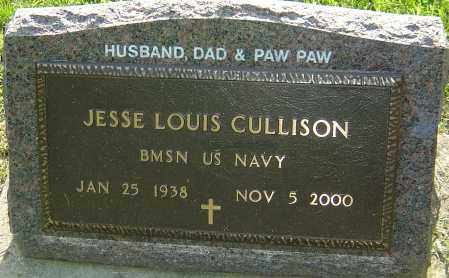 CULLISON, JESSE LOUIS - Montgomery County, Ohio | JESSE LOUIS CULLISON - Ohio Gravestone Photos