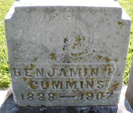 CUMMINS, BENJAMIN - Montgomery County, Ohio | BENJAMIN CUMMINS - Ohio Gravestone Photos