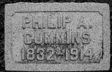 CUMMINS, PHILIP A. - Montgomery County, Ohio | PHILIP A. CUMMINS - Ohio Gravestone Photos