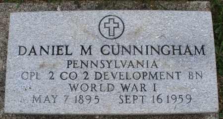 CUNNINGHAM, DANIEL M. - Montgomery County, Ohio | DANIEL M. CUNNINGHAM - Ohio Gravestone Photos