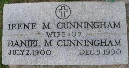 CUNNINGHAM, IRENE M. - Montgomery County, Ohio | IRENE M. CUNNINGHAM - Ohio Gravestone Photos