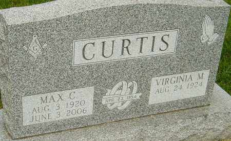 CURTIS, MAX C - Montgomery County, Ohio | MAX C CURTIS - Ohio Gravestone Photos