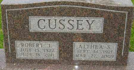 CUSSEY, ROBERT J - Montgomery County, Ohio | ROBERT J CUSSEY - Ohio Gravestone Photos