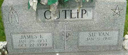 CUTLIP, JAMES E - Montgomery County, Ohio | JAMES E CUTLIP - Ohio Gravestone Photos