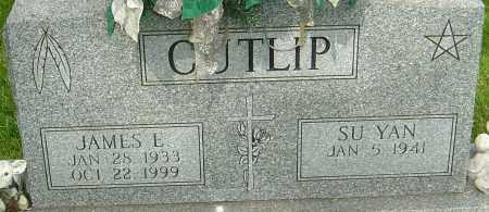 CUTLIP, JAMES E - Montgomery County, Ohio | JAMES E CUTLIP - Ohio Gravestone Photos