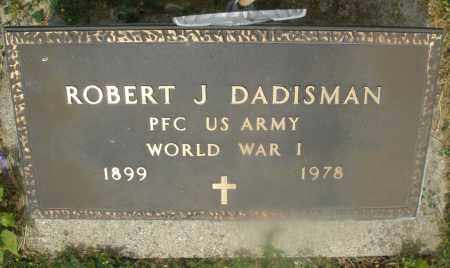 DADISMAN, ROBERT J. - Montgomery County, Ohio | ROBERT J. DADISMAN - Ohio Gravestone Photos