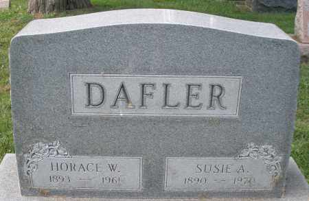 DAFLER, HORACE W. - Montgomery County, Ohio | HORACE W. DAFLER - Ohio Gravestone Photos