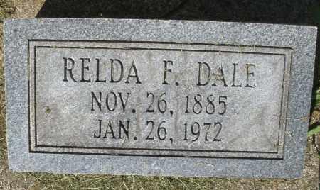 DALE, RELDA F. - Montgomery County, Ohio | RELDA F. DALE - Ohio Gravestone Photos