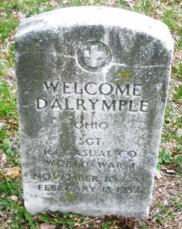 DALRYMPLE, WELCOME - Montgomery County, Ohio | WELCOME DALRYMPLE - Ohio Gravestone Photos