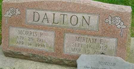 DALTON, MIRIAM E - Montgomery County, Ohio | MIRIAM E DALTON - Ohio Gravestone Photos