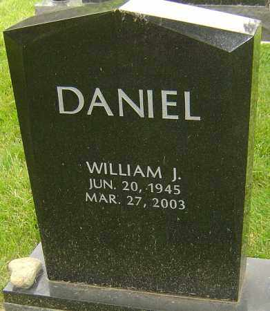 DANIEL, WILLIAM J - Montgomery County, Ohio | WILLIAM J DANIEL - Ohio Gravestone Photos